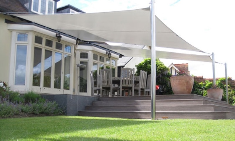 Garden Canopy Covers & Gazebo and pergola high specification covers by Cunninghams