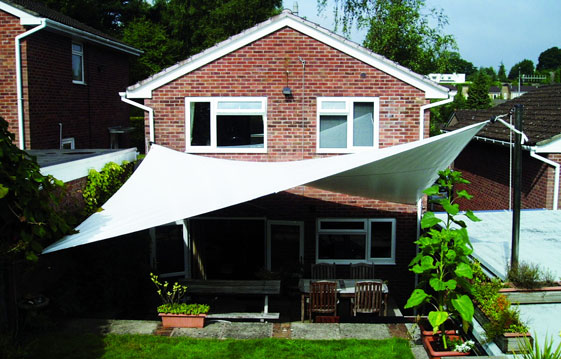 Shade sails custom made to the highest specification by for Colorado shade sail