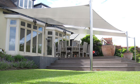 Rectangle garden canopy & Garden canopies custom made to the highest specification by ...